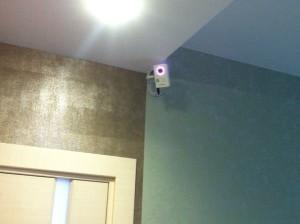 IP-видеокамера с подсветкой