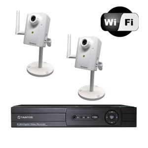 Видеонаблюдение по Wi-Fi