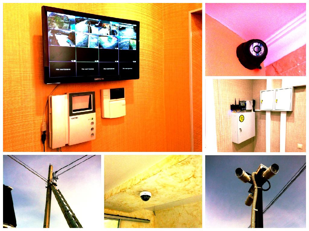 Качественный монтаж систем видеонаблюдения в Туле