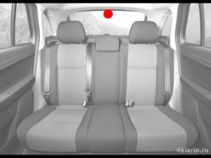 видеокамера в автомобиле сзади