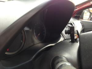 Видеокамера на панель приборов учебного автомобиля