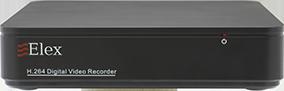 Цифровой видеорегистратор Elex A-4 Nano AHD 1080N 6Tb