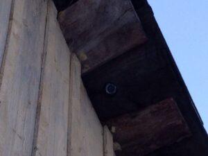 Скрытая видеокамера на даче