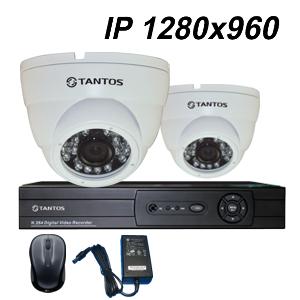 IP-видеонаблюдение для помещений